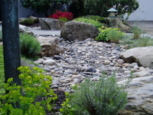 River rick helps any landscape design