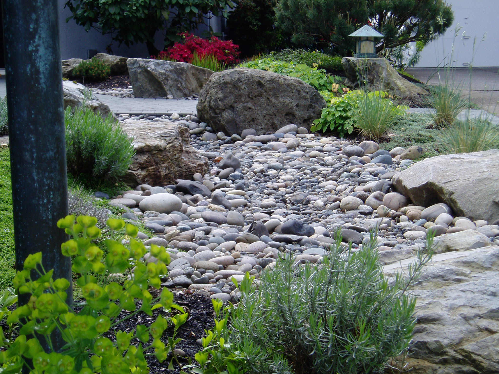 Portland rock and landscape supply everything you need for Installing river rock landscaping