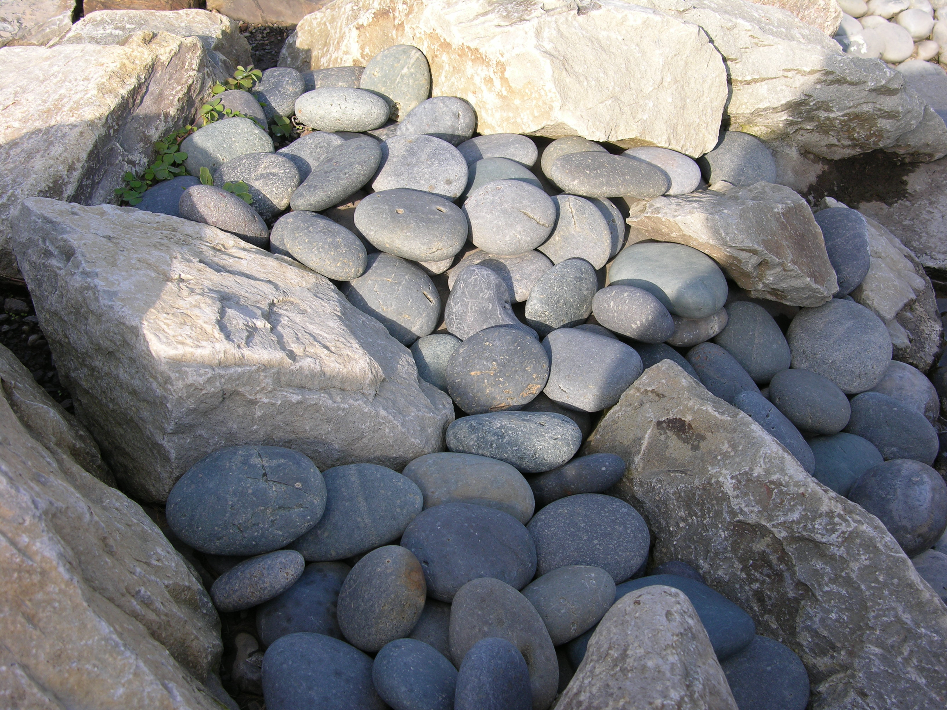 Lovely Landscaping with Rocks and Pebbles