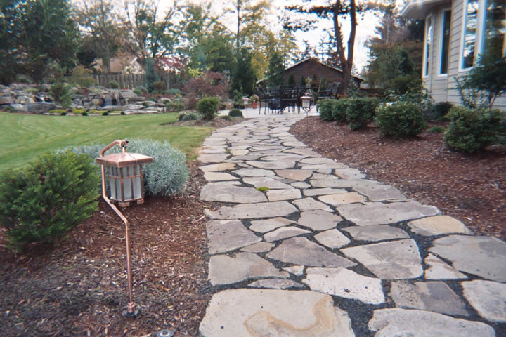 Portland rock and landscape supply everything you need for Rock stepping stones landscaping