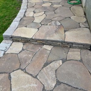 flagstones: Trout Creek stepstones example