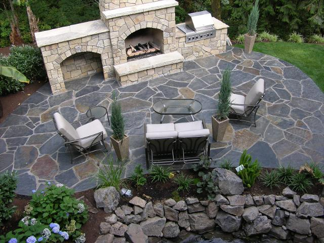 flagstones: Iron Mountain example