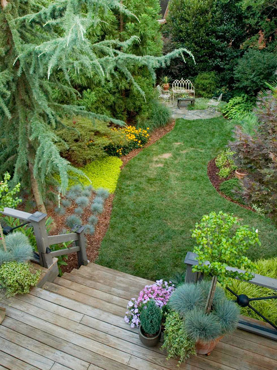 Is your garden ready for spring portland rock and for Simple garden design
