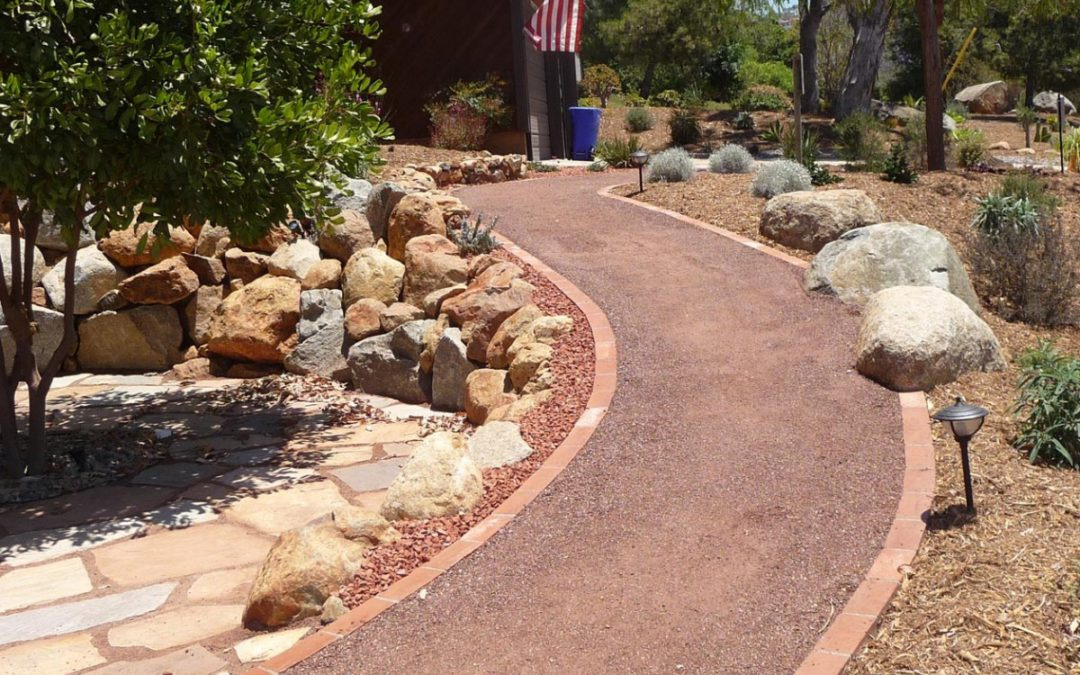 Landscaping With Decomposed Granite Portland Rock And